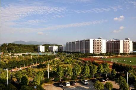 风景如画 美不胜收 广州城建职业学院校园掠影